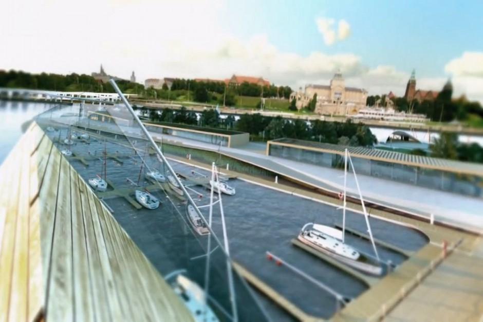 Nowa marina w Szczecinie wita już żeglarzy