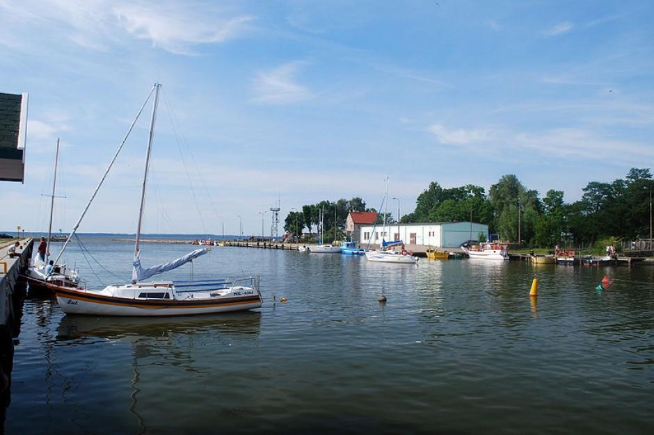 W Bogaczewie zbudowano port dla wędkarzy