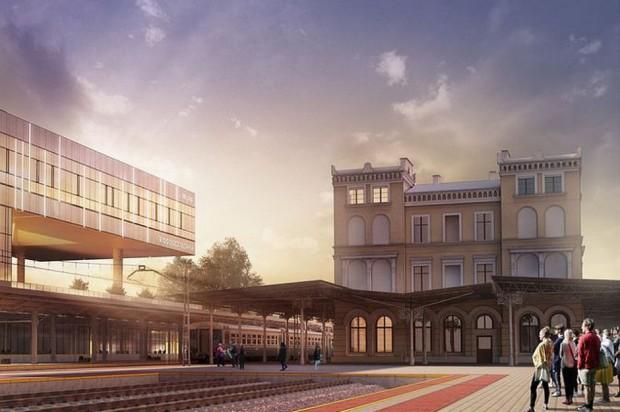 Na budowie bydgoskiego dworca praca wre