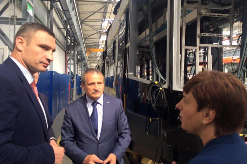 Bydgoska Pesa dostarczy do stolicy Ukrainy 50 tramwajów