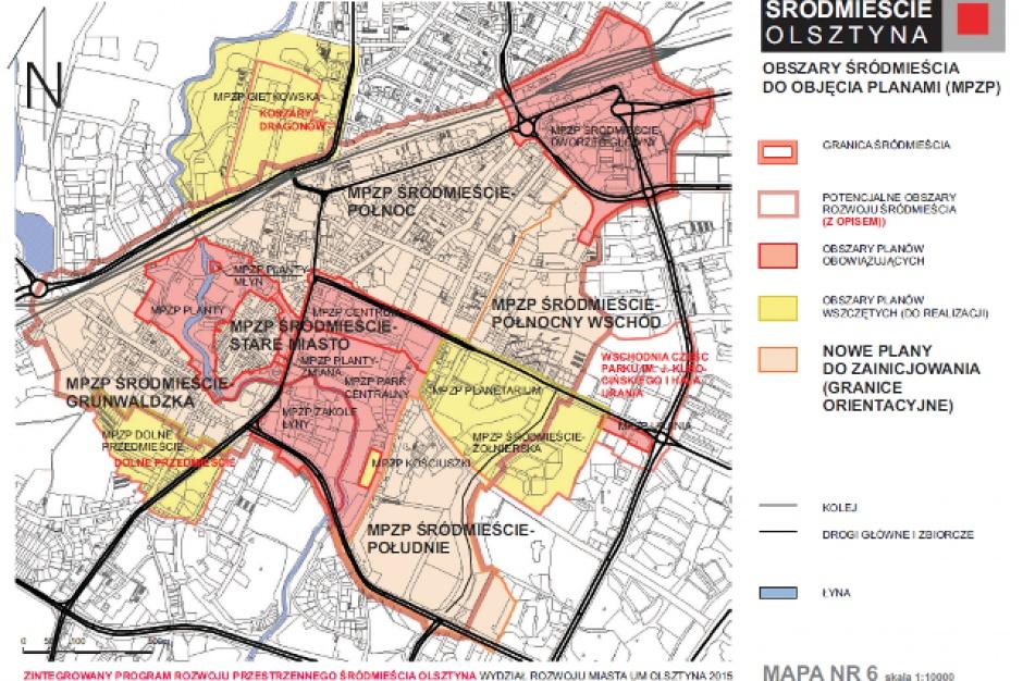 Los Śródmieścia Olsztyna w rękach radnych