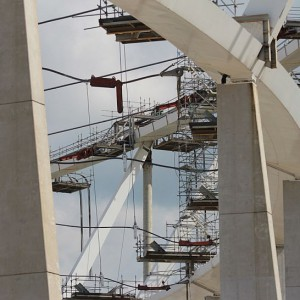 Masa konstrukcji z pokryciem to ponad 830 ton (fot.PTWP)