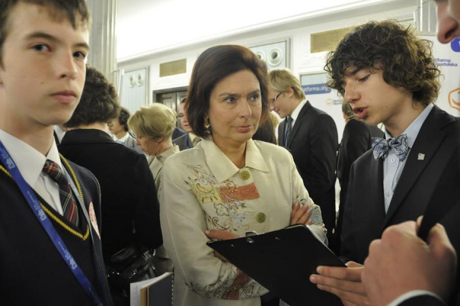 Małgorzata Kidawa-Błońska została nowym marszałkiem Sejmu