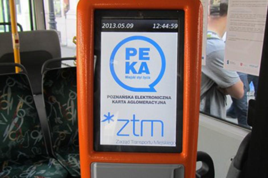 372 tys. kart aglomeracyjnego systemu PEKA