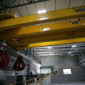 Stacja wyposażona jest w halę, prasy, kontenery, wagę oraz stanowiska dla pracowników (fot.mat.pras.)