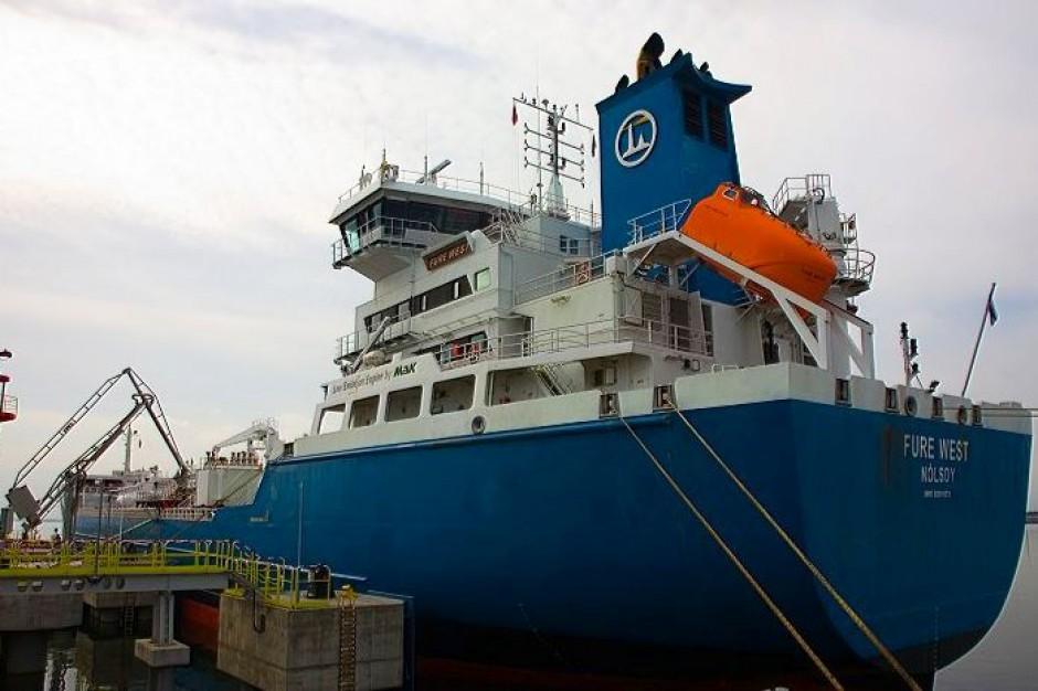 Port Gdańsk ma nowe stanowisko statkowe do obsługi paliw