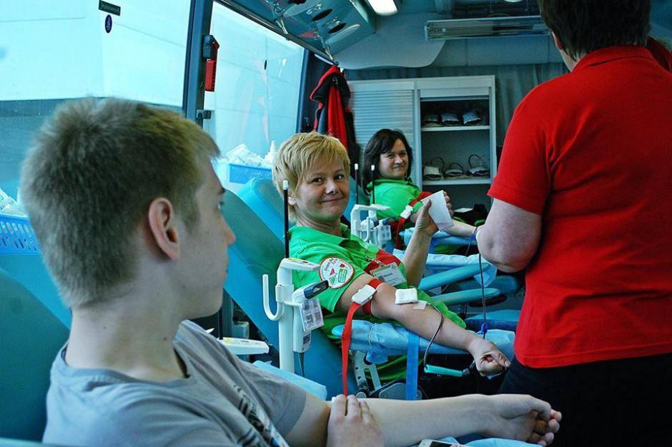 Krwiodawcy z całej Polski spotkają się na Stadionie Narodowym