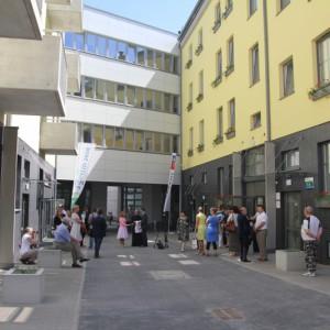 Renowacja kwartału 23 szczecińskiego śródmieścia łączy w sobie aspekty społeczne, architektoniczne i senioralne(fot.wzp.pl)