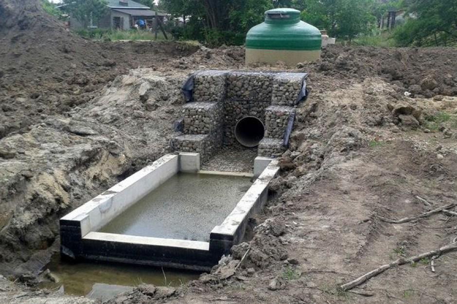 Coraz bliżej kanalizacji deszczowej w gminie Dobra