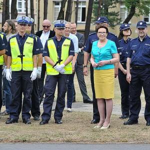 Tematem spotkania było bezpieczeństwo na drogach (fot.csp.edu.pl)