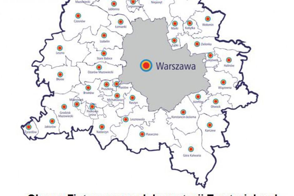 Zintegrowane Inwestycje Terytorialne metropolii warszawskiej