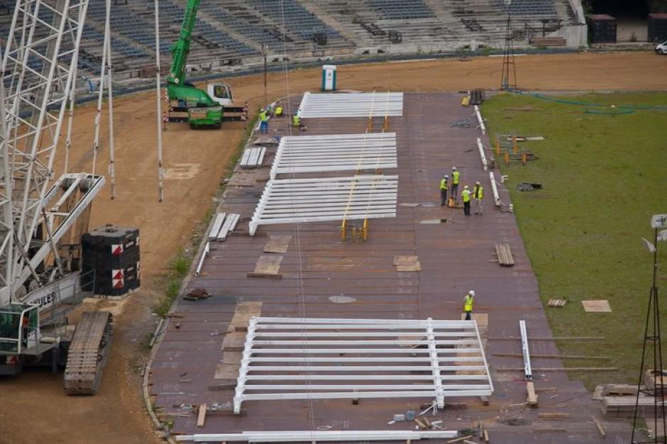 Stadion Śląski zyska dach w trzy miesiące