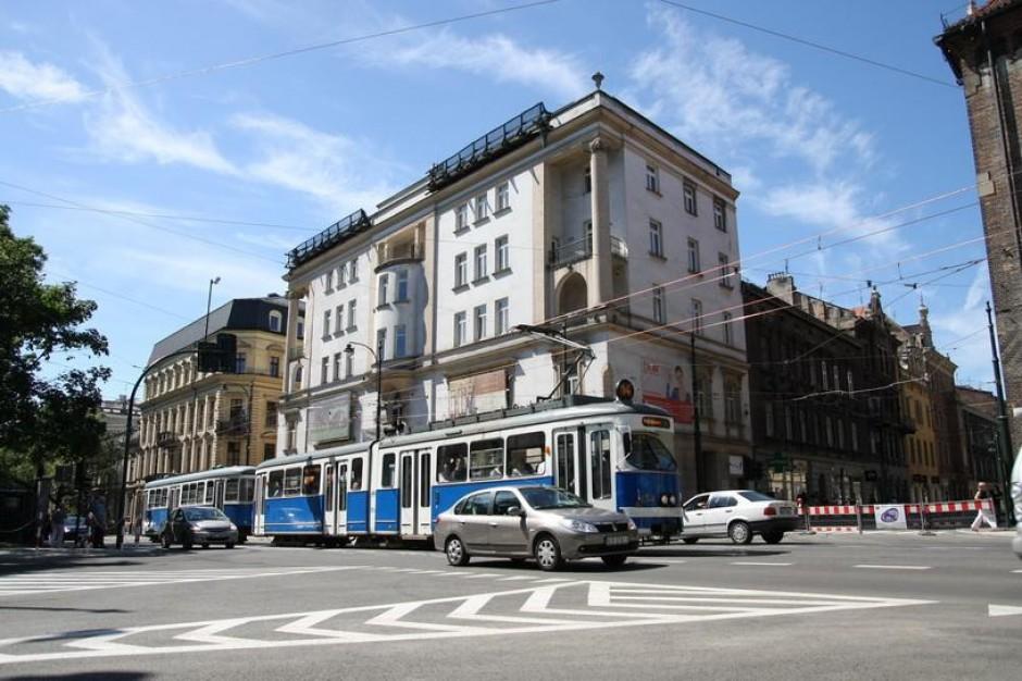 Basztowa i Dunajewskiego: Utrudnienia w ruchu w Krakowie