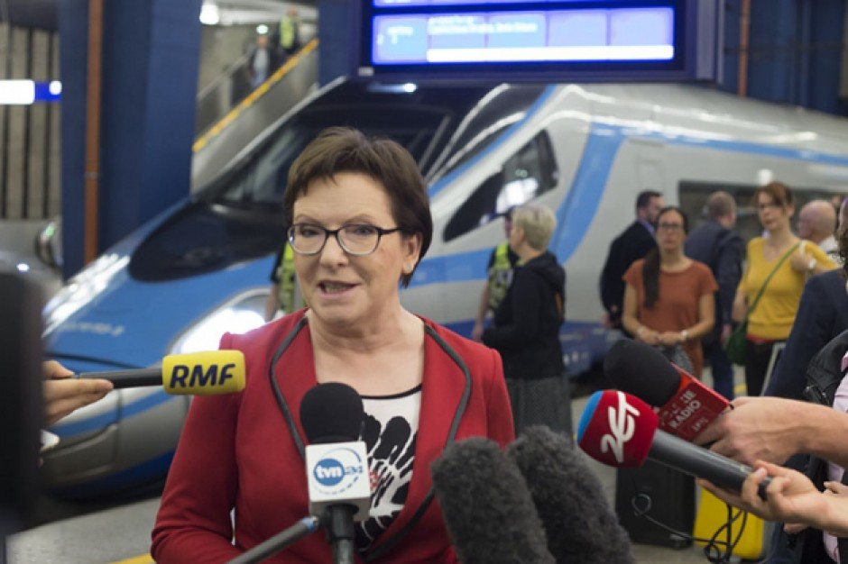 Premier Ewa Kopacz z wizytą w Łodzi i Skierniewicach