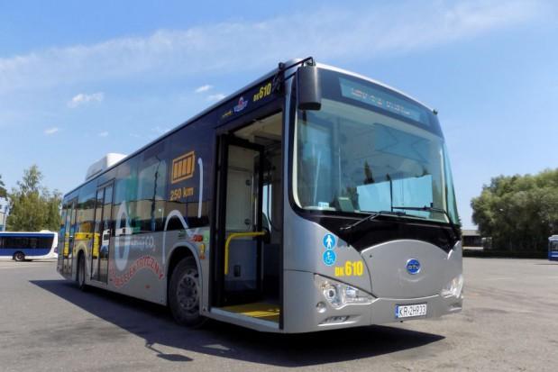 Autobusy elektryczne: Kraków testuje pojazdy z Chin