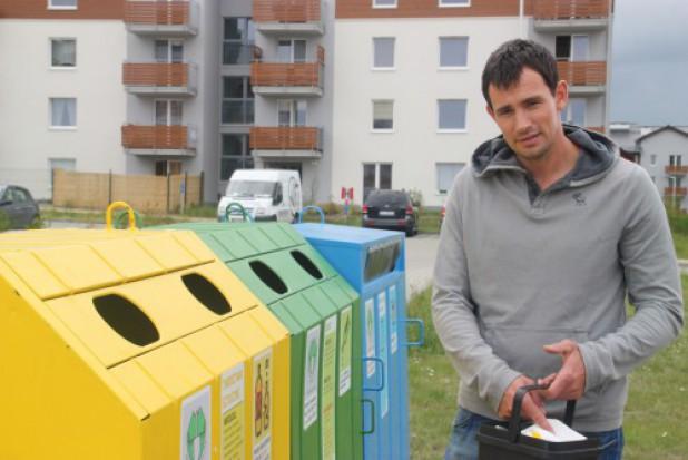 Gospodarka odpadami: Marcin Lijewski namawia do segregowania śmieci