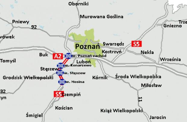 Budowa S5 Poznań - Wrocław: podpisano umowę