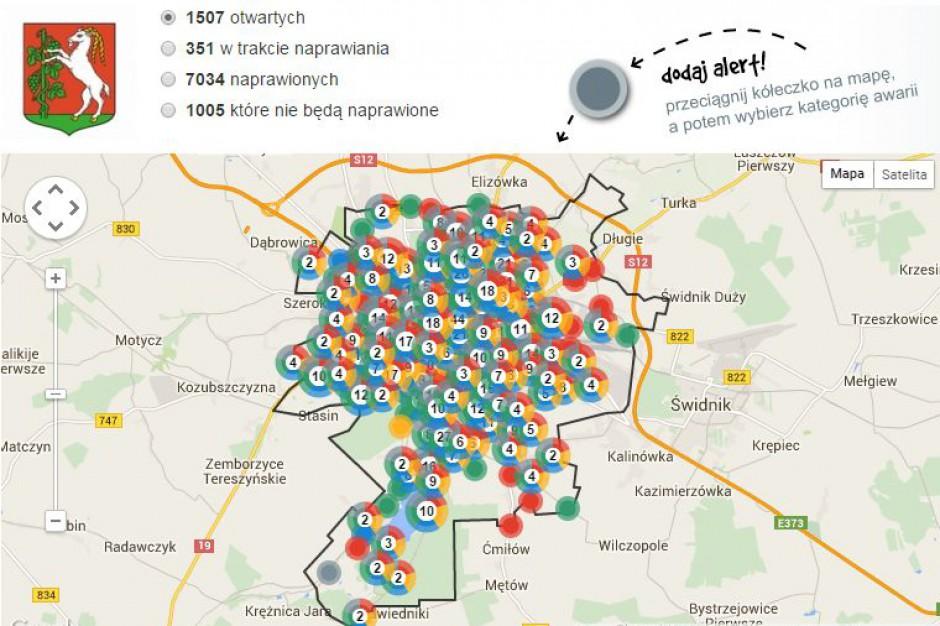 Usterka w Lublinie? Naprawią to dzięki miejskiemu portalowi