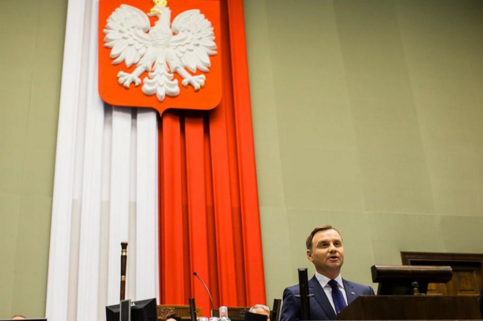 Prezydent w orędziu: Polacy marzą o wspólnocie i solidarności