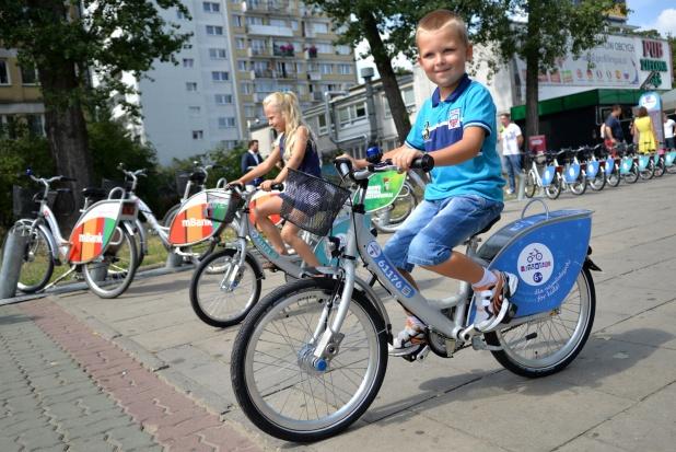 W Warszawie miejskie rowery także dla dzieci