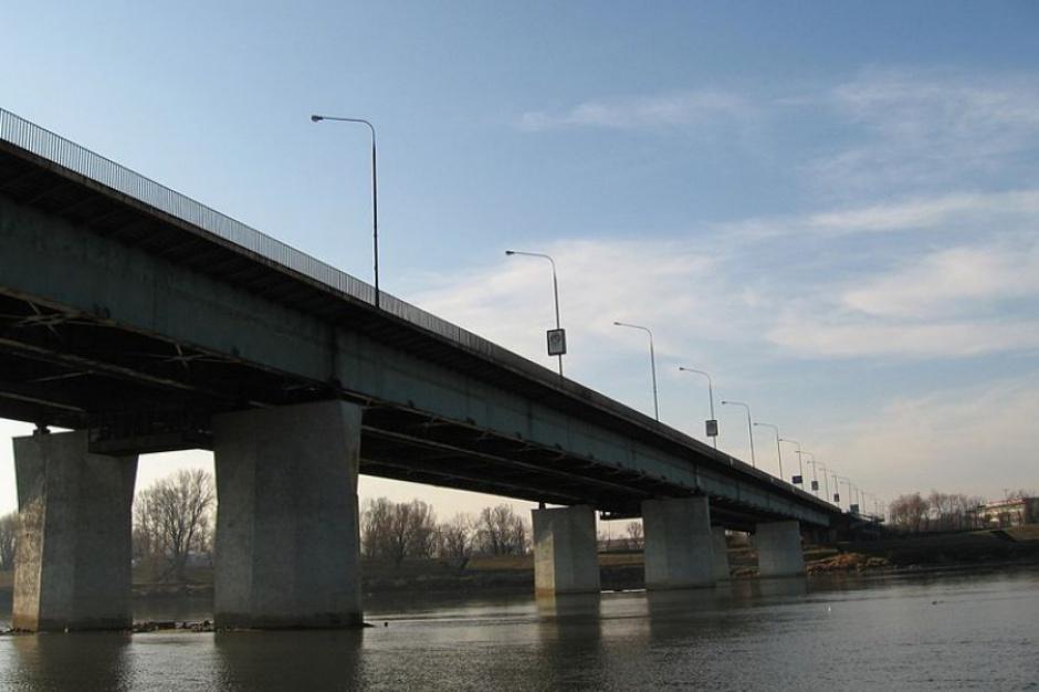 Warszawa, Most Łazienkowski: Pożar na pomostach technicznych