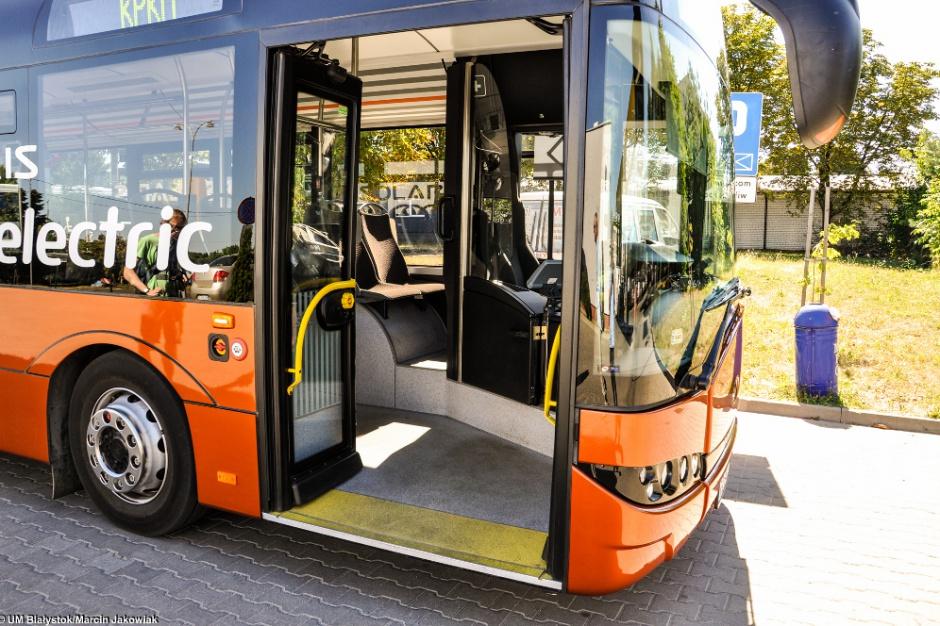Białystok rozpoczyna testy kolejnego elektrycznego autobusu