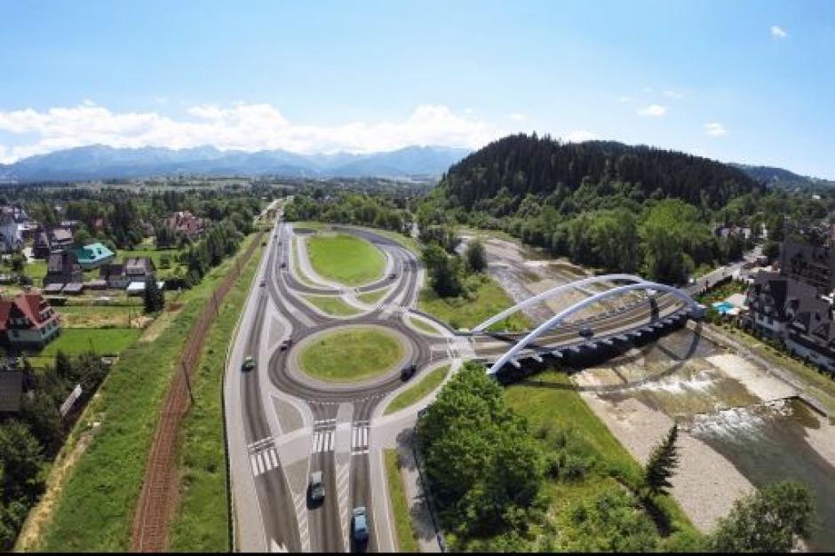 Drogi, zakopianka: w 2016 r. ruszy budowa węzła w Poroninie