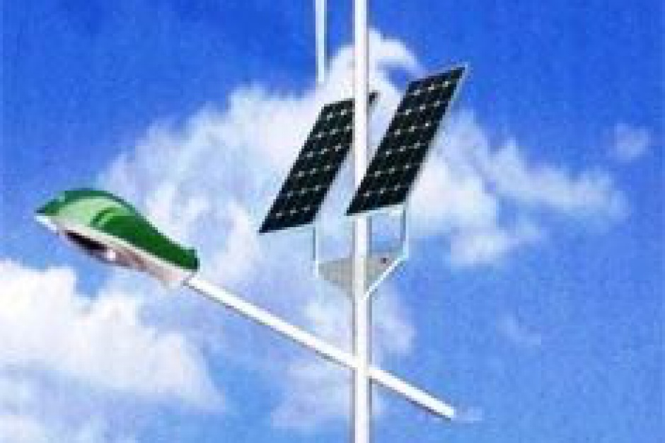 W gminie Złotoryja lampy zasilane przez turbiny wiatrowe zastąpią rtęciówki