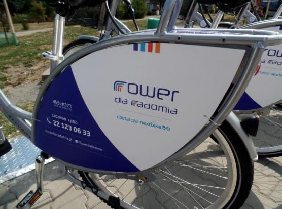 W Radomiu wystartował pilotażowy system rowerów miejskich