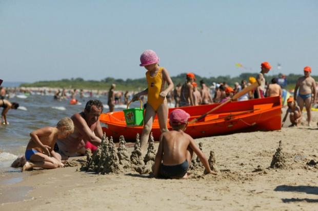 Plaże: Kołobrzeg 10 stopni, Świnoujście - 20. Ale w regionie bardzo zadowoleni z sezonu