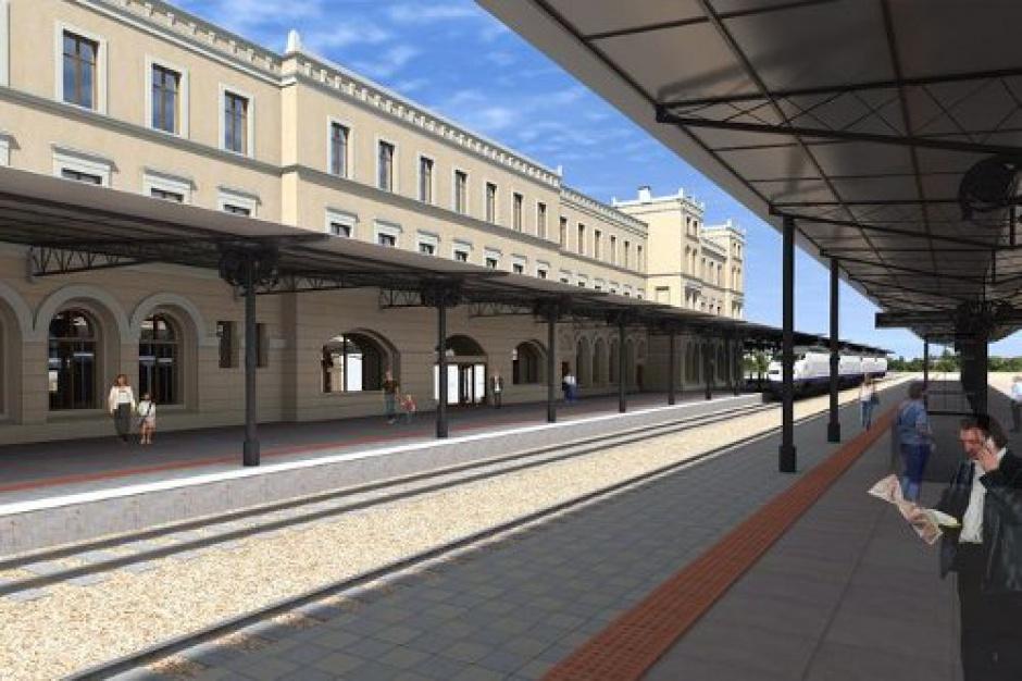 Bydgoszcz, dworzec PKP prawie gotowy
