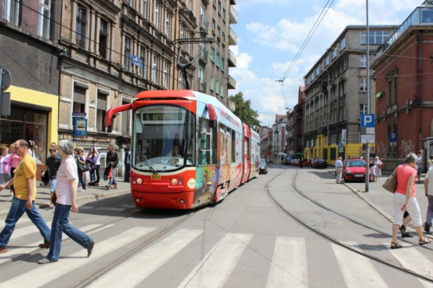 Tramwaje, Katowice: nowa trasa na południe