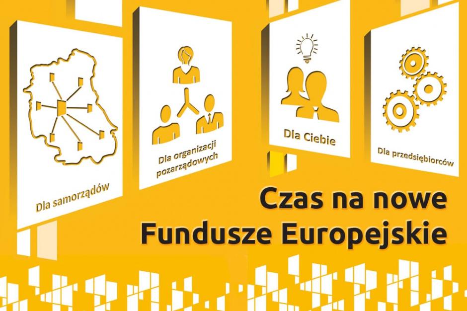 Czas na nowe Fundusze Europejskie - kampania informacyjna