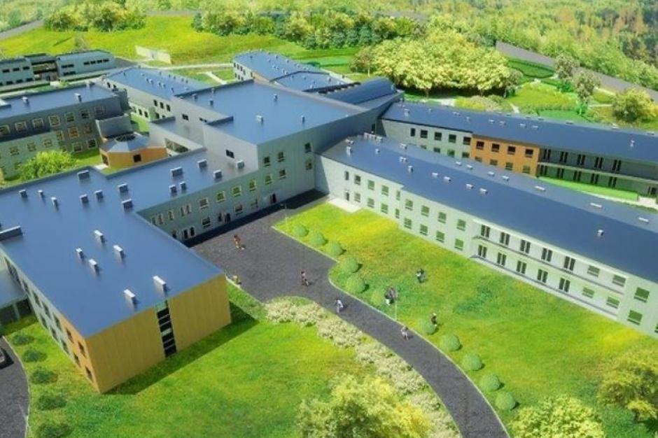 Budowa szpitala w Drewicy wchodzi w decydującą fazę