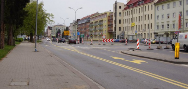 Władze Olsztyna zwalniają ruch w Śródmieściu