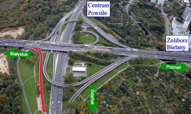 Warszawa, most Grota-Roweckiego: poszerzona przeprawa już otwarta
