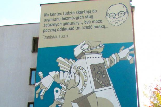 W Krakowie odsłonięto tablicę upamiętniającą Stanisława Lema