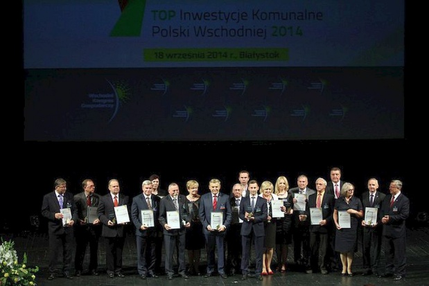 Top Inwestycje Komunalne Polski Wschodniej 2015 - kto otrzyma nagrody?