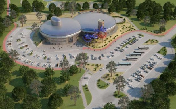 Słupsk szuka inwestora, który pomoże dokończyć budowę Aquaparku