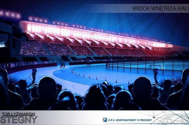 Tak ma wyglądać pierwszy kryty tor łyżwiarski w Polsce