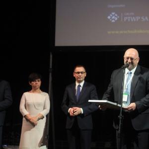 Andrzej Gutkowski – zastępca prezydenta Miasta Rzeszowa składał podziękowania organizatorom konkursu.
