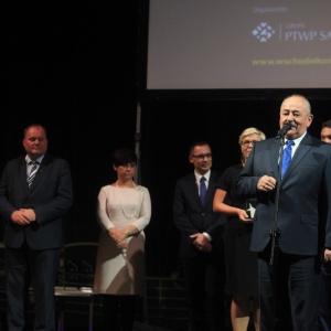 Nagrodę otrzymała też inwestycja: Biogazownia w oczyszczalni ścieków w Siemiatyczach.