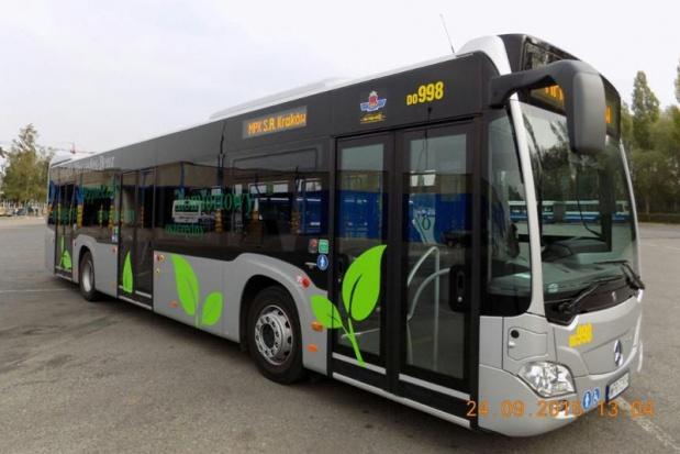 Kraków testuje autobus zodzyskiem energii