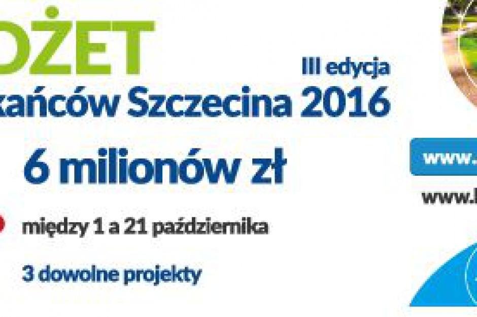 Budżet obywatelski Szczecina. Głosowanie czas zacząć