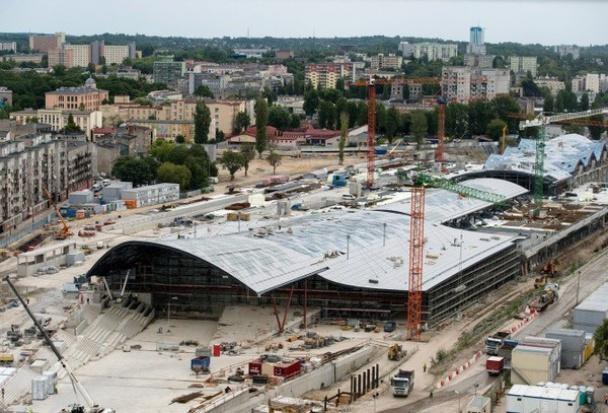 Dworzec Łódź Fabryczna z opóźnieniem