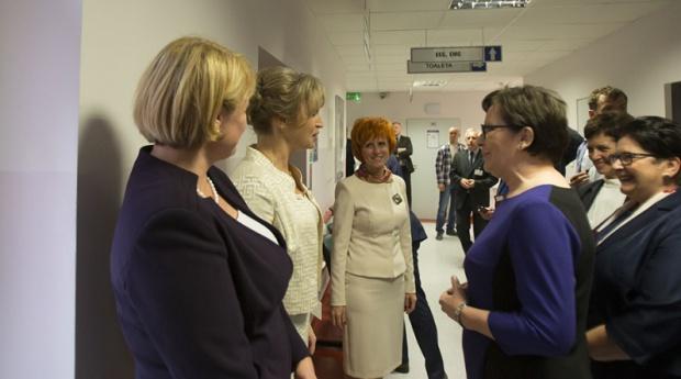 Premier Ewa Kopacz o opiece geriatrycznej
