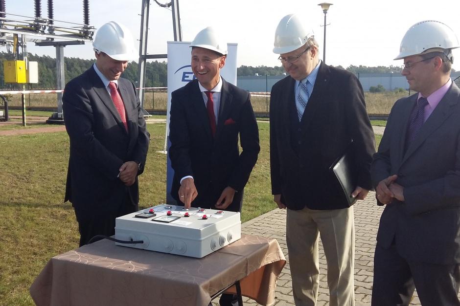 Zakończenie modernizacji linii energetycznej Załom - Goleniów