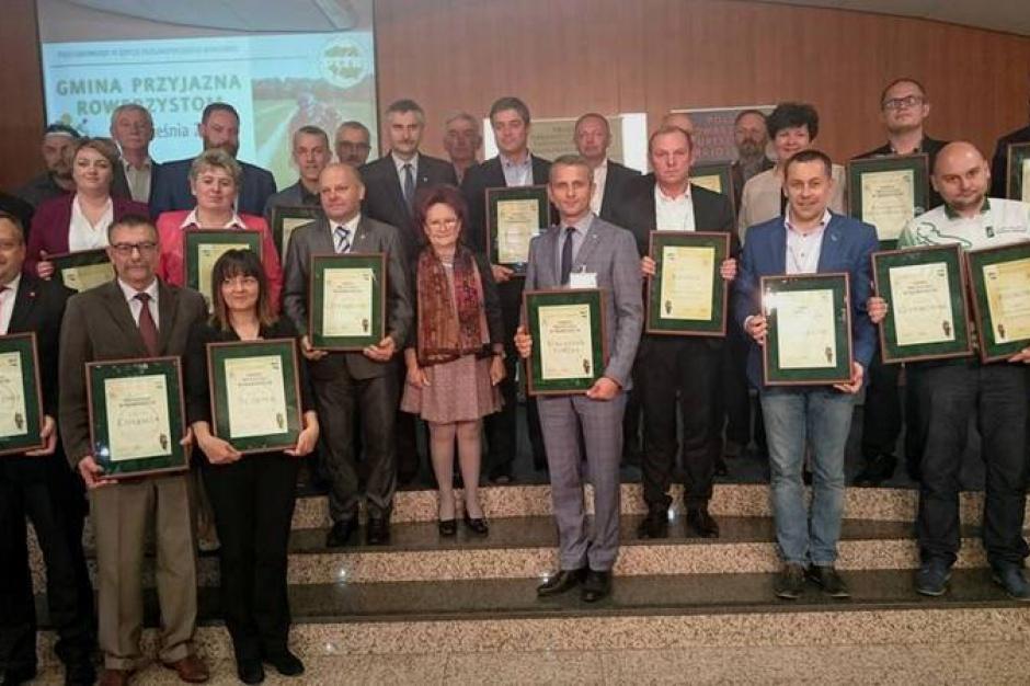 Gmina Przyjazna Rowerzystom 2015: lista laureatów
