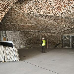 Pod salą powstał też dwukondygnacyjny parking podziemny na 185 samochodów. Fot. WWW.torun.pl (Lech Kamiński)