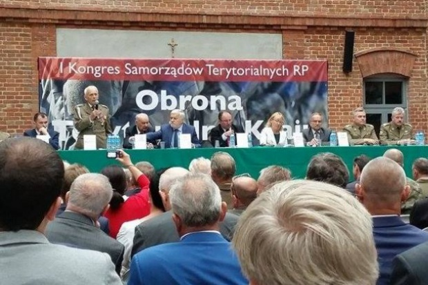 Stworzenie Obrony Terytorialnej Kraju przy współpracy z samorządami było głównym tematem I Kongresu Samorządów Terytorialnych RP, który odbył się 2 września br. w Muzeum Armii Krajowej w Krakowie: